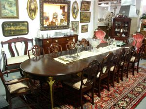 antique wood dining room sets md